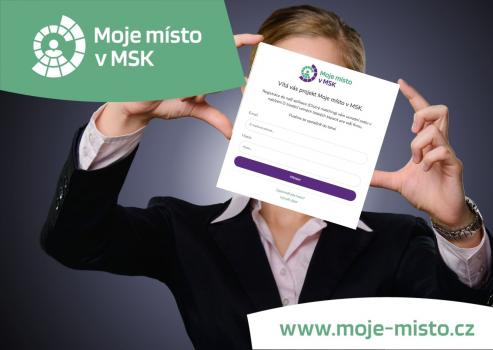Are you looking for qualified employees? The new online app 'Moje místo v MSK' will help you!